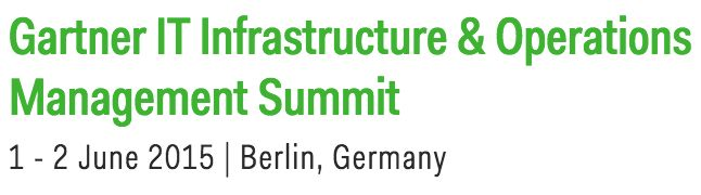 Gartner-IT-Infrastructure and Operations-Summit-2015-Plain