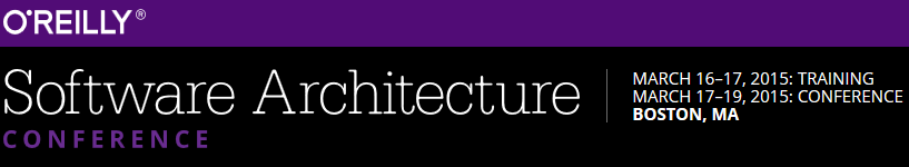 O'Reilly - Software Architecture Conference 2015