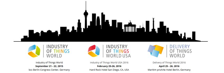 Industry of Things World - 2015 - Berlin