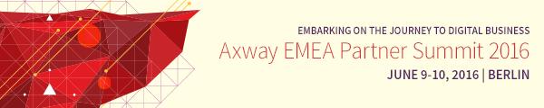 Axway Partner Summit 2016 Berlin