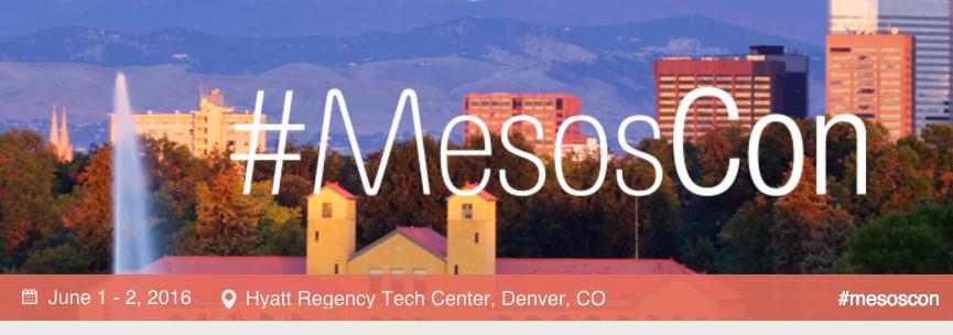 MesosCon-2016-Denver