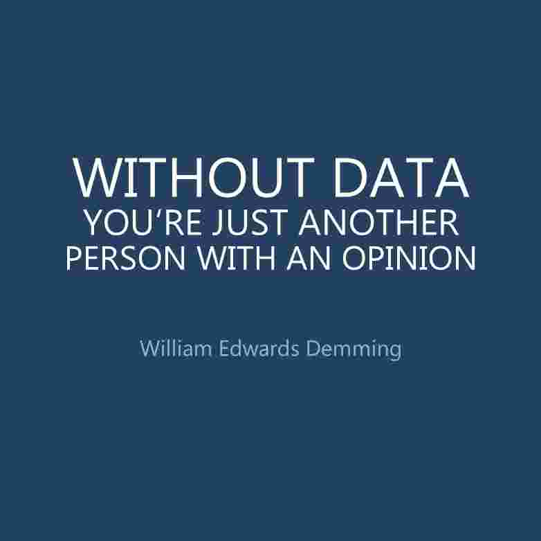 Quote-Demming-Without-Data